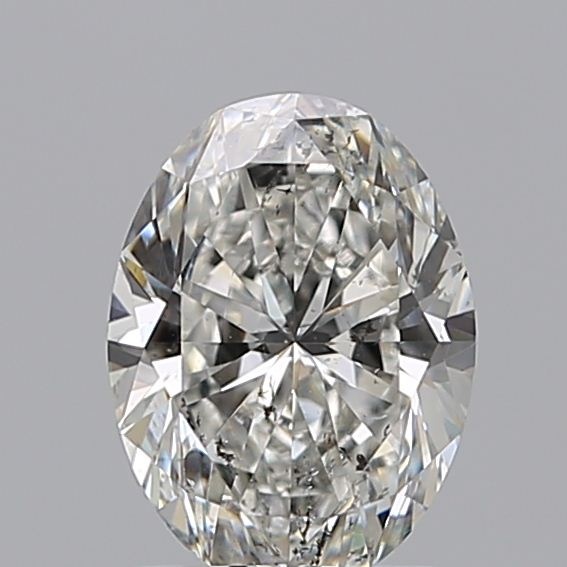 1.20 Carat Oval Loose Diamond, G, SI2, Super Ideal, GIA Certified | Thumbnail