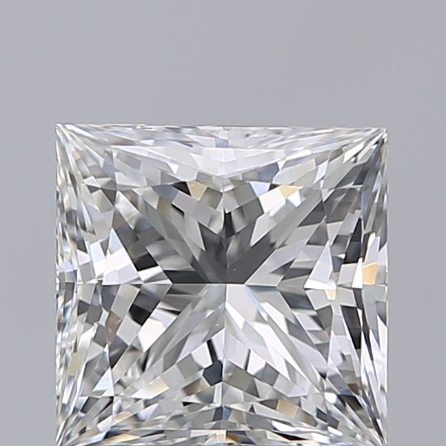 1.90 Carat Princess Loose Diamond, F, VS1, Super Ideal, GIA Certified