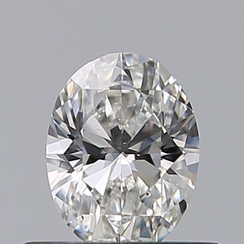 0.42 Carat Oval Loose Diamond, F, VS1, Excellent, GIA Certified