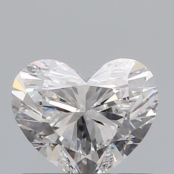 0.51 Carat Heart Loose Diamond, E, VS1, Super Ideal, GIA Certified | Thumbnail