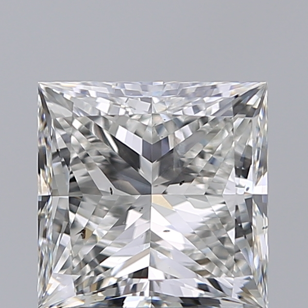 1.90 Carat Princess Loose Diamond, H, SI2, Super Ideal, GIA Certified