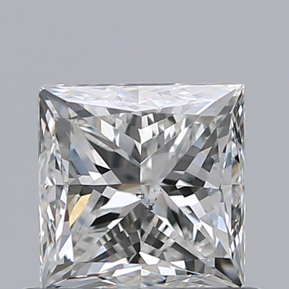 0.70 Carat Princess Loose Diamond, I, SI1, Very Good, GIA Certified