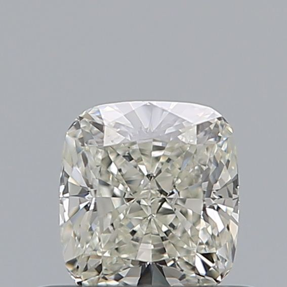 0.50 Carat Cushion Loose Diamond, J, VS1, Ideal, GIA Certified
