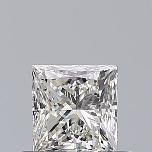 0.50 Carat Princess Loose Diamond, I, VS2, Excellent, GIA Certified