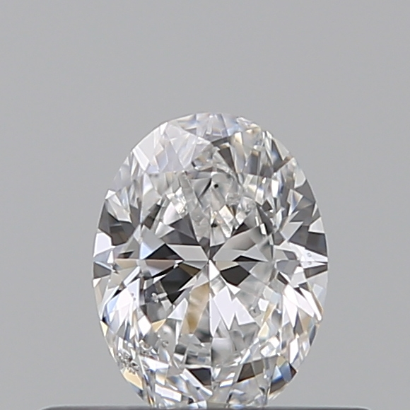 0.30 Carat Oval Loose Diamond, D, SI2, Excellent, GIA Certified