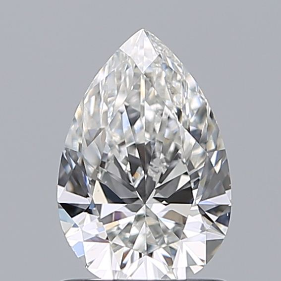 0.99 Carat Pear Loose Diamond, F, VS1, Super Ideal, GIA Certified | Thumbnail