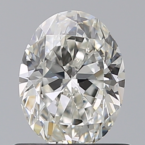 0.70 Carat Oval Loose Diamond, H, VS1, Excellent, GIA Certified