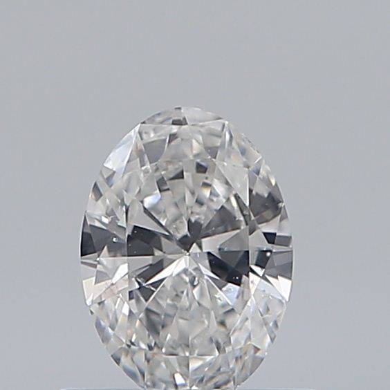 0.46 Carat Oval Loose Diamond, E, SI2, Ideal, GIA Certified
