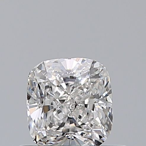 0.50 Carat Cushion Loose Diamond, F, VS2, Ideal, GIA Certified