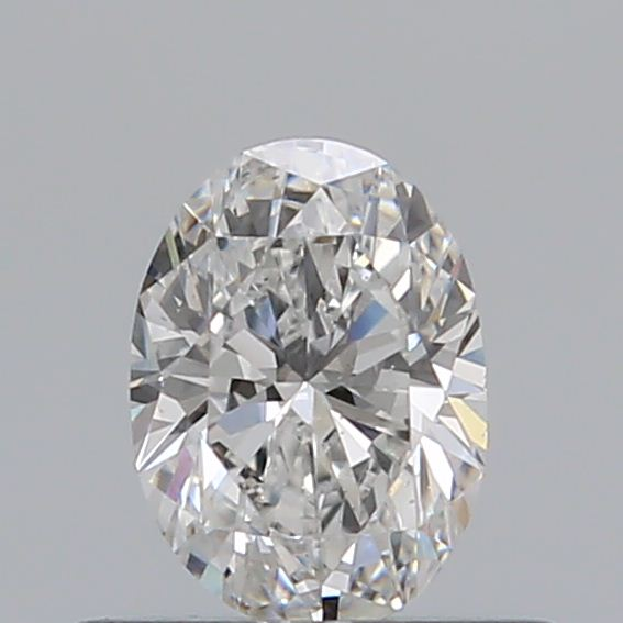 0.42 Carat Oval Loose Diamond, F, VS2, Excellent, GIA Certified