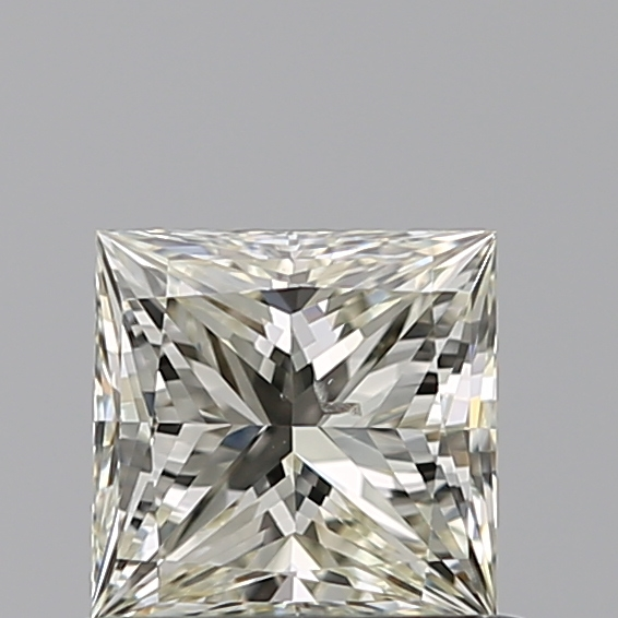0.65 Carat Princess Loose Diamond, L, SI2, Ideal, GIA Certified