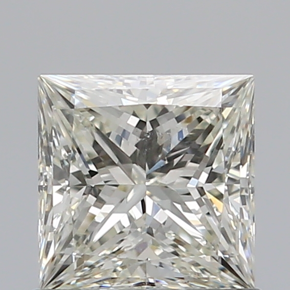 0.71 Carat Princess Loose Diamond, K, VS2, Super Ideal, GIA Certified | Thumbnail