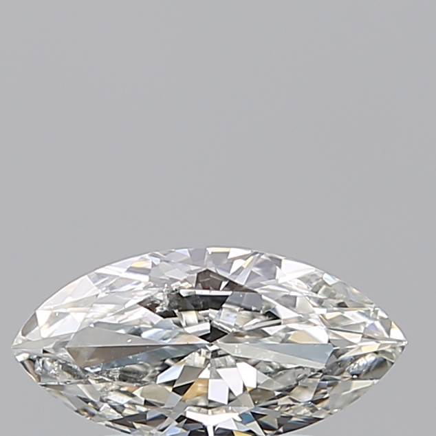 0.70 Carat Marquise Loose Diamond, H, SI2, Ideal, GIA Certified