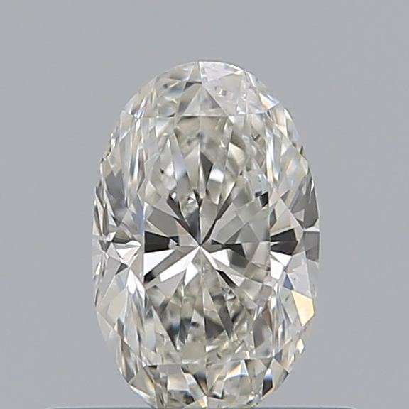 0.44 Carat Oval Loose Diamond, I, VS1, Very Good, GIA Certified