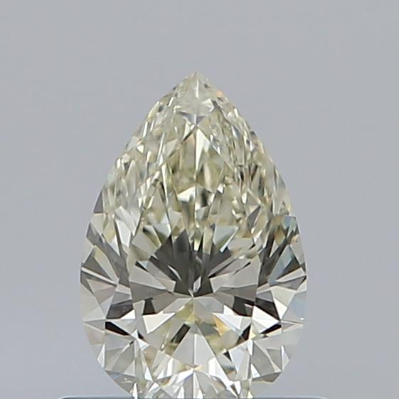 0.54 Carat Pear Loose Diamond, K, VS2, Super Ideal, GIA Certified