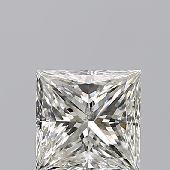 1.00 Carat Princess Loose Diamond, J, SI2, Ideal, GIA Certified