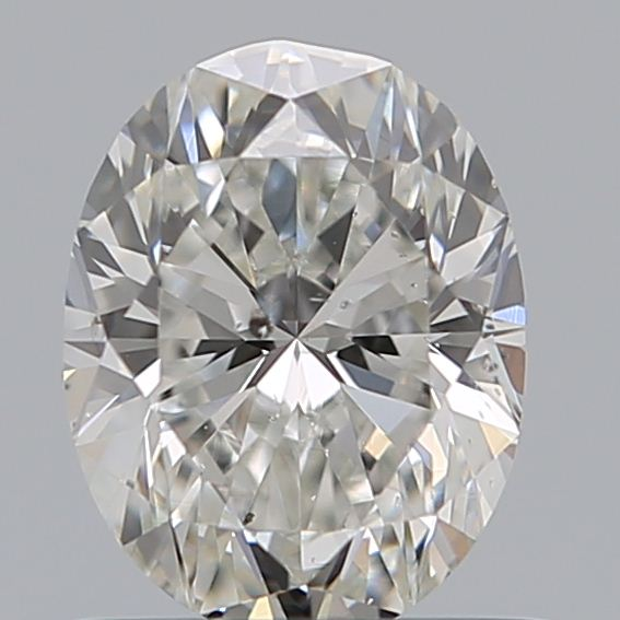 0.70 Carat Oval Loose Diamond, G, SI2, Excellent, GIA Certified