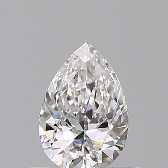0.31 Carat Pear Loose Diamond, F, VVS2, Ideal, GIA Certified