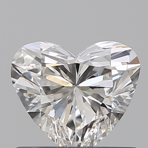 0.50 Carat Heart Loose Diamond, G, VVS1, Super Ideal, GIA Certified