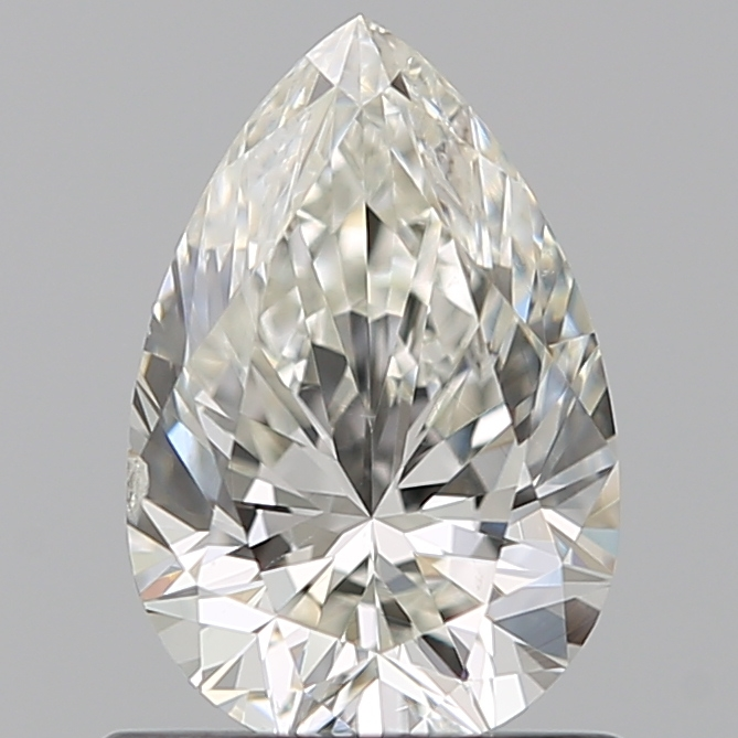 0.75 Carat Pear Loose Diamond, J, SI2, Super Ideal, GIA Certified | Thumbnail
