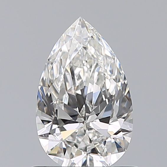 0.72 Carat Pear Loose Diamond, F, SI1, Super Ideal, GIA Certified