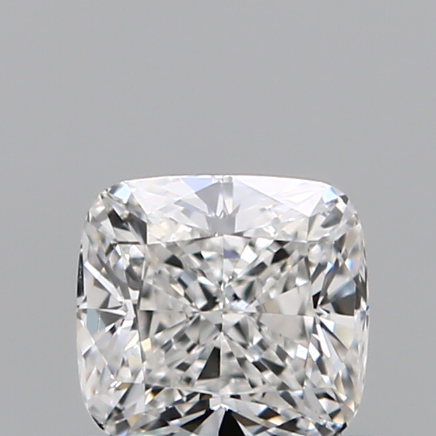 0.50 Carat Cushion Loose Diamond, F, VS2, Excellent, GIA Certified