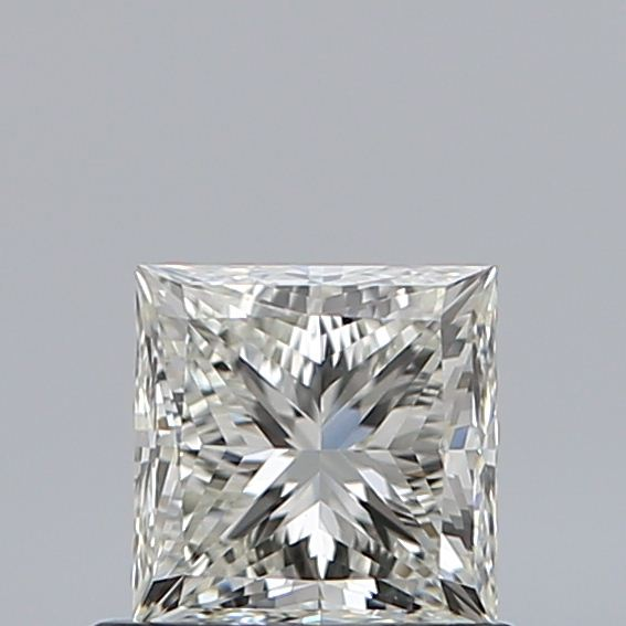 0.70 Carat Princess Loose Diamond, K, VS1, Super Ideal, GIA Certified