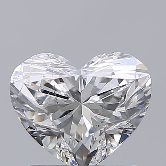 1.00 Carat Heart Loose Diamond, E, SI2, Super Ideal, GIA Certified | Thumbnail