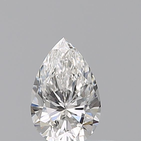 0.30 Carat Pear Loose Diamond, F, VVS2, Excellent, GIA Certified