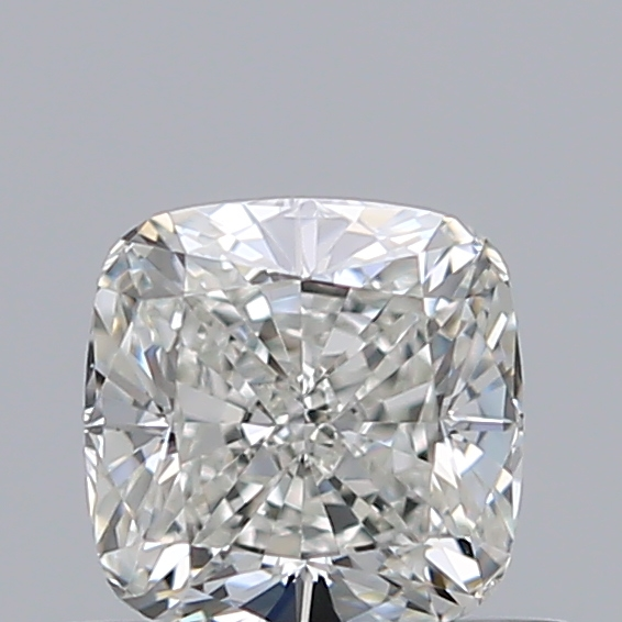 0.50 Carat Cushion Loose Diamond, I, VS2, Super Ideal, GIA Certified