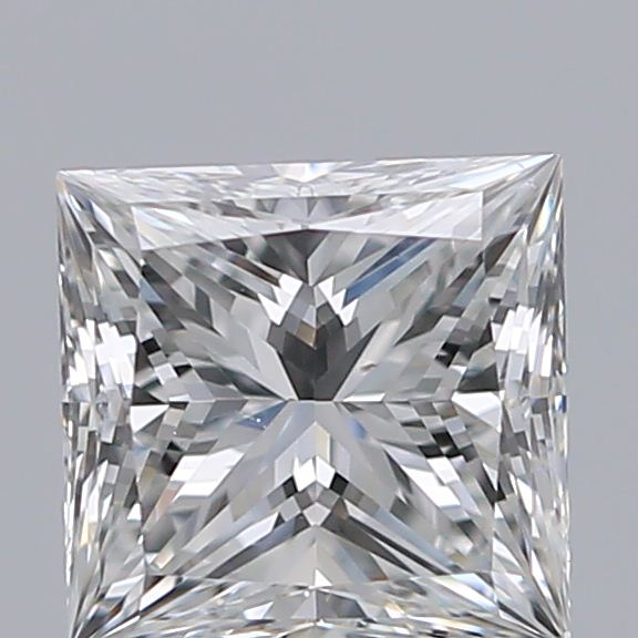 0.72 Carat Princess Loose Diamond, F, VS2, Super Ideal, GIA Certified | Thumbnail
