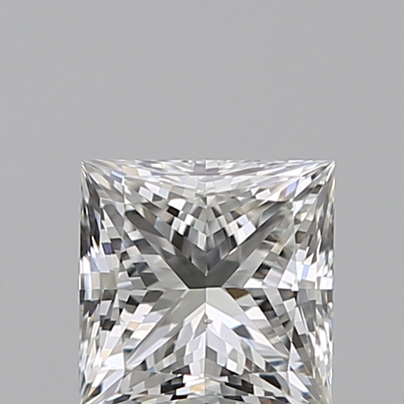 0.40 Carat Princess Loose Diamond, H, SI1, Super Ideal, GIA Certified | Thumbnail