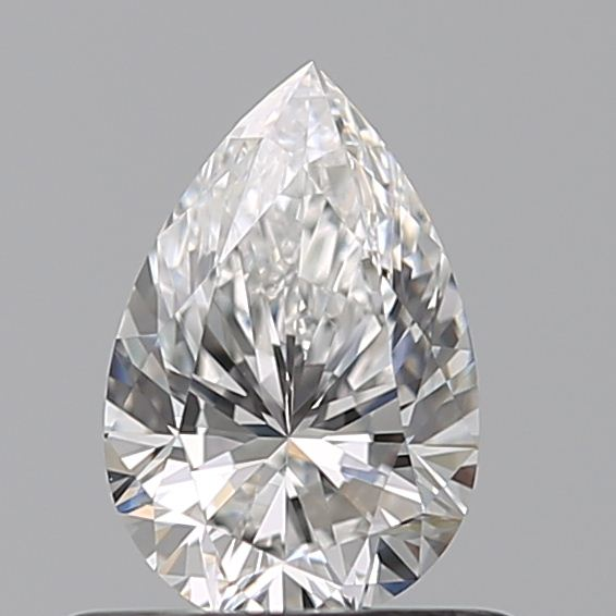 0.53 Carat Pear Loose Diamond, E, VVS1, Ideal, GIA Certified