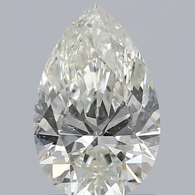 0.90 Carat Pear Loose Diamond, K, SI2, Super Ideal, GIA Certified