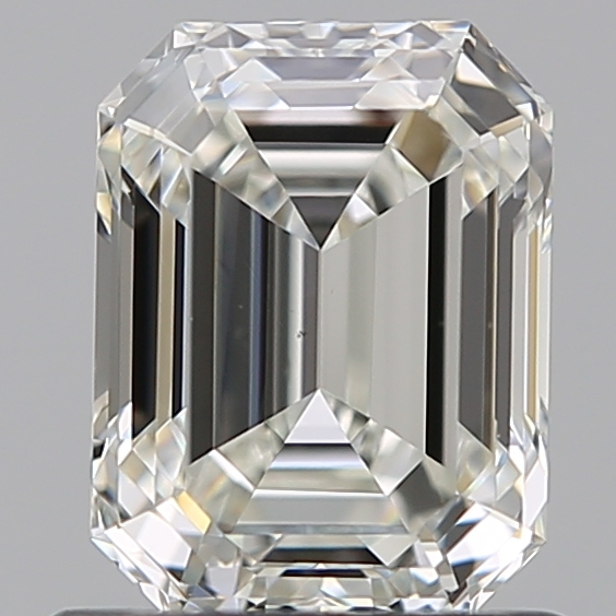 0.90 Carat Emerald Loose Diamond, I, VS1, Ideal, GIA Certified