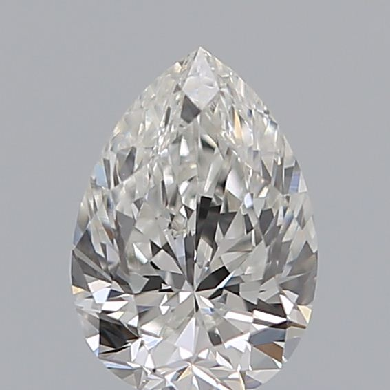 0.40 Carat Pear Loose Diamond, F, VS1, Excellent, GIA Certified