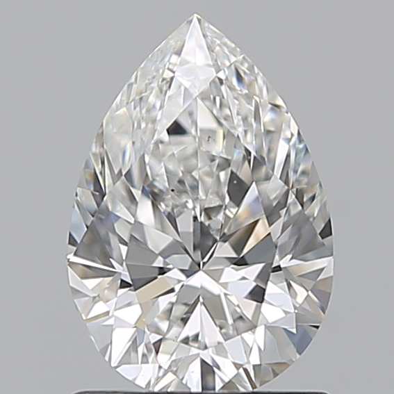 1.00 Carat Pear Loose Diamond, F, VS1, Excellent, GIA Certified