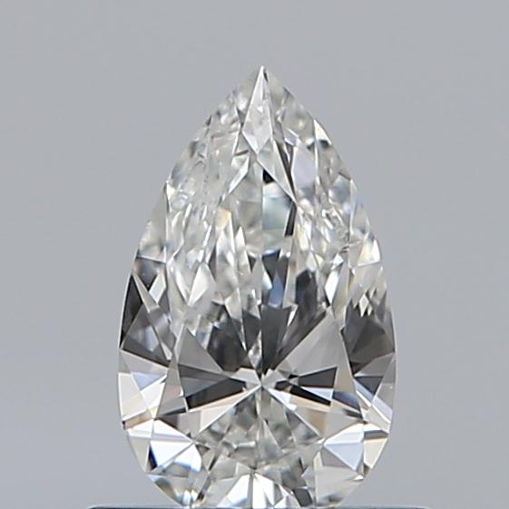 0.43 Carat Pear Loose Diamond, G, VVS1, Super Ideal, GIA Certified