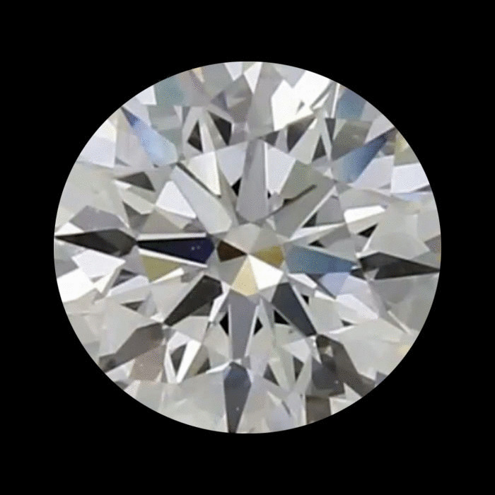 0.75 Carat Round Loose Diamond, G, VS2, Super Ideal, GIA Certified