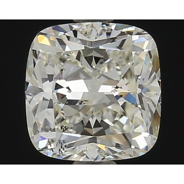 1.06 Carat Cushion Loose Diamond, K, SI2, Super Ideal, GIA Certified