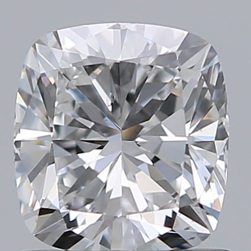 0.90 Carat Cushion Loose Diamond, F, SI1, Ideal, GIA Certified | Thumbnail