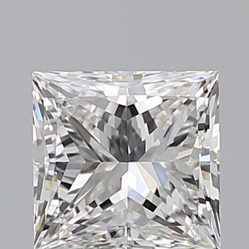 1.00 Carat Princess Loose Diamond, F, VVS1, Super Ideal, GIA Certified | Thumbnail