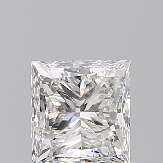 0.90 Carat Princess Loose Diamond, H, VS1, Very Good, GIA Certified | Thumbnail