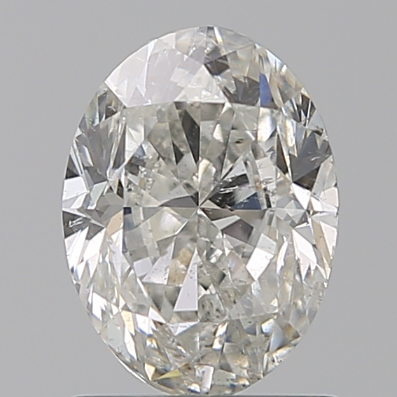 1.20 Carat Oval Loose Diamond, H, SI2, Very Good, GIA Certified