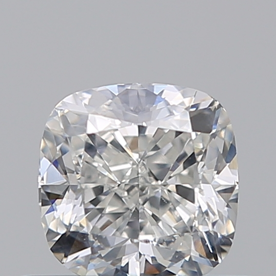 0.51 Carat Cushion Loose Diamond, H, SI1, Excellent, GIA Certified