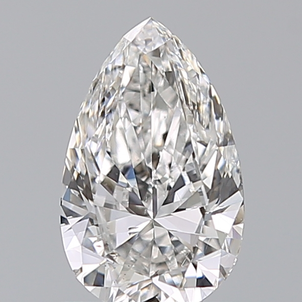 0.80 Carat Pear Loose Diamond, E, I1, Excellent, GIA Certified