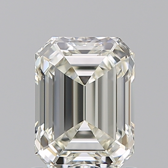 1.05 Carat Emerald Loose Diamond, K, VVS1, Super Ideal, GIA Certified
