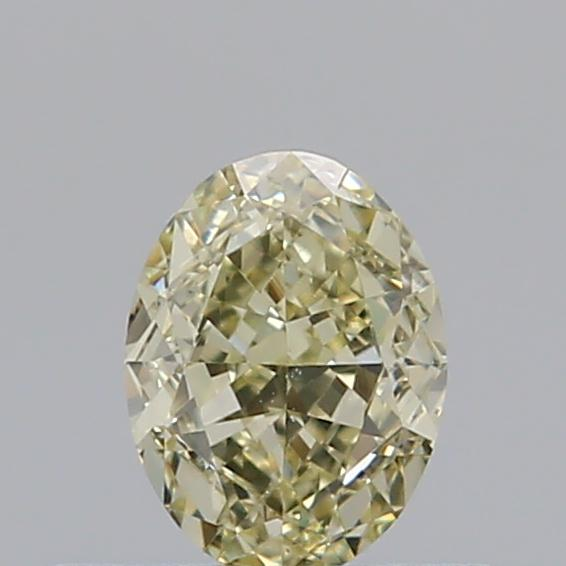 0.38 Carat Oval Loose Diamond, FANCY, VS2, Ideal, GIA Certified | Thumbnail