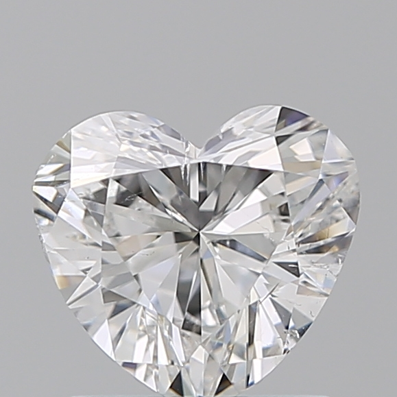 0.99 Carat Heart Loose Diamond, F, SI2, Excellent, GIA Certified