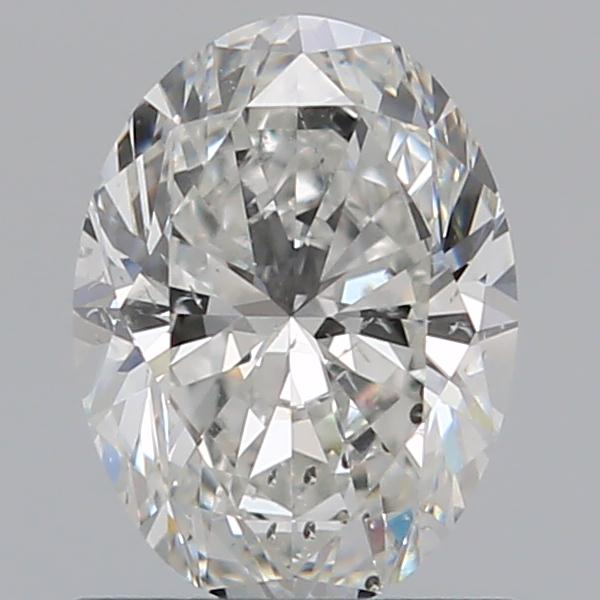 0.80 Carat Oval Loose Diamond, G, SI2, Ideal, GIA Certified